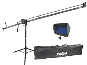 "Grúa ProAm DV C500 + Monitor Wondlan 7"" LCD HD 701B"
