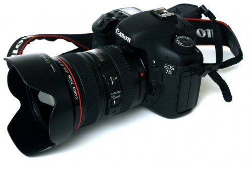 Canon EOS 7D + Objetivo Canon EF 24-105mm f/4L IS USM