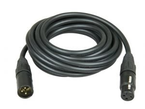 Cable audio XLR (M) - XLR (H) 5m