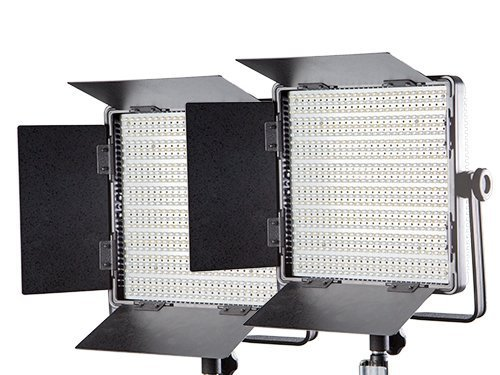 Kit 2 paneles LED 600 bicolor 3200K-5400K