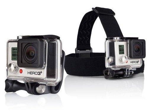 Correa para la cabeza y QuickClip para GoPro