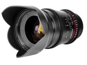 Objetivo Samyang V-DSLR EF 35mm T/1.5