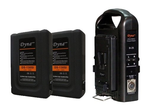 Pack 2 Baterías Dynacore V-Lock DS130S