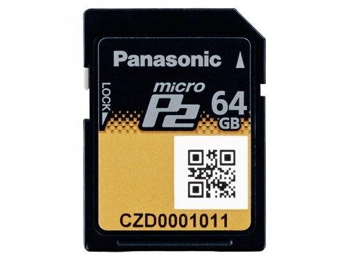 Tarjeta de memoria micro P2 Panasonic 64GB