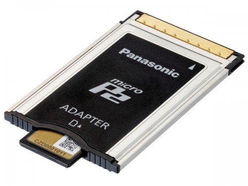 Adaptador de tarjetas micro P2 a P2 Panasonic