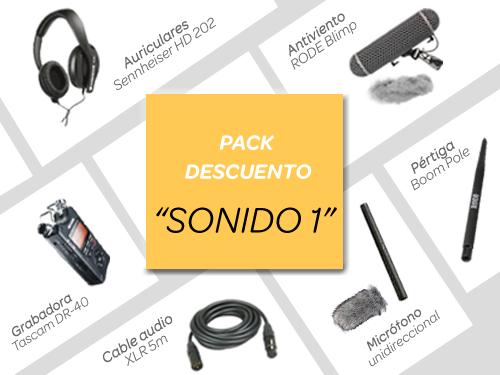 """Pack descuento """"SONIDO 1"""""""