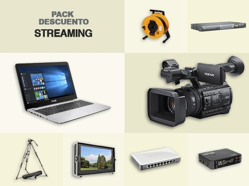 "Pack descuento ""STREAMING"""