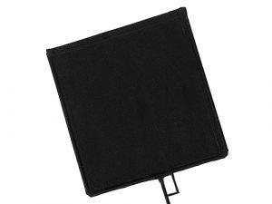 Bandera negra Avenger 102x102cm