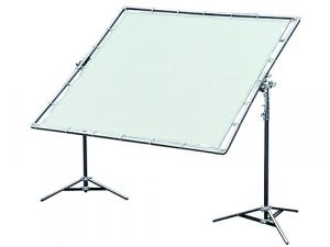 """Palio Avenger 12""""x12"""" (360x360cm) con tela de seda artificial blanca"""
