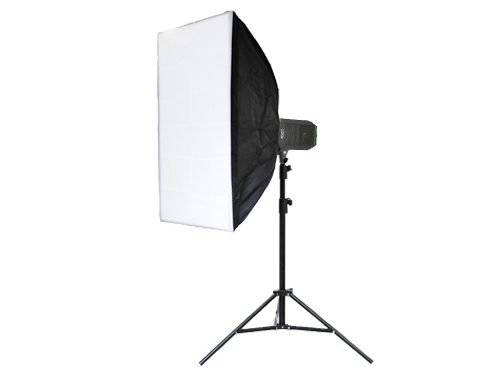 Foco LED 1000W 5200K con Softbox