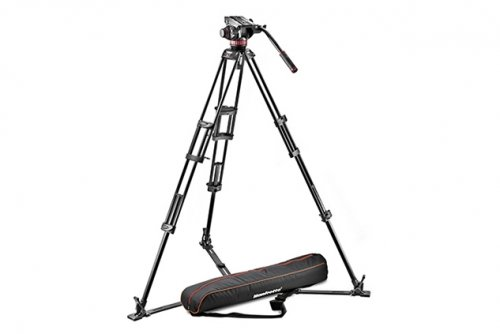 Trípode Manfrotto 502HD-546GB