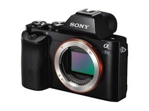 Sony Alpha 7s - Cuerpo