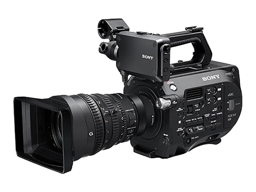 Sony PXW-FS7 + Objetivo Sony FE PZ 28-135mm f/4 G OSS Lens