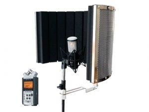 Kit de grabación de voz portátil
