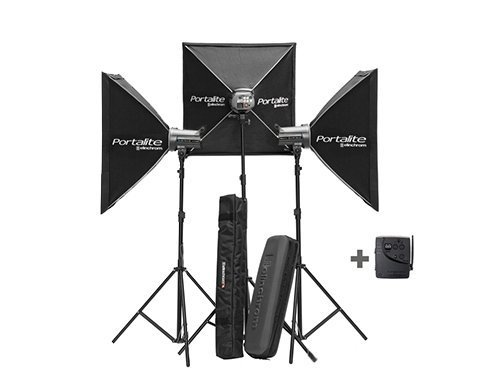 Kit 3 flash Elinchrom DLite RX-ONE 100W