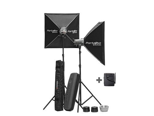Kit 2 flash Elinchrom DLite RX 4 TO GO 400W