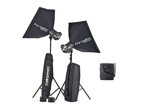 Kit 2 flash Elinchrom BRX500 TO GO 500W
