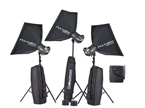 Kit 3 flash Elinchrom BRX500 TO GO 500W