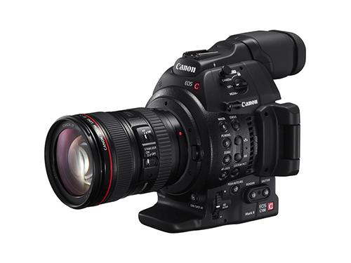 Canon EOS C100 Mark II + Objetivo Canon EF 24-105mm f/4L IS USM