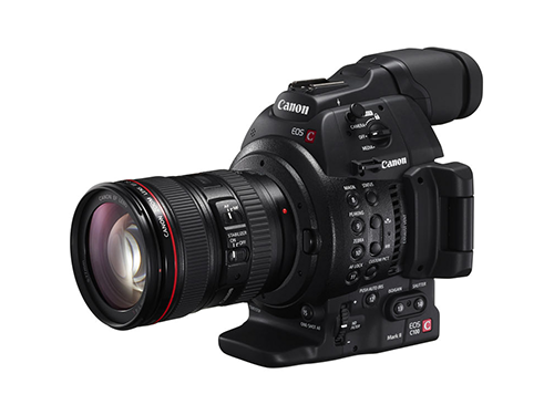 Canon EOS C100 Mark II + Objetivo Canon EF 24-105mm f/4L IS USM