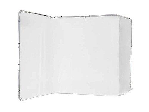 Fondo panorámico blanco 4x2,35m