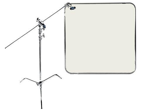 Kit marco Lastolite Skylite 1,1x1,1m con filtro WD Half y ceferino