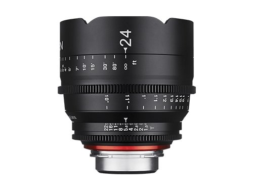 Objetivo Samyang XEEN EF 24mm T/1.5