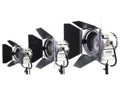 Kit 3 Focos Fresnel FilmGear 1950W 3200K