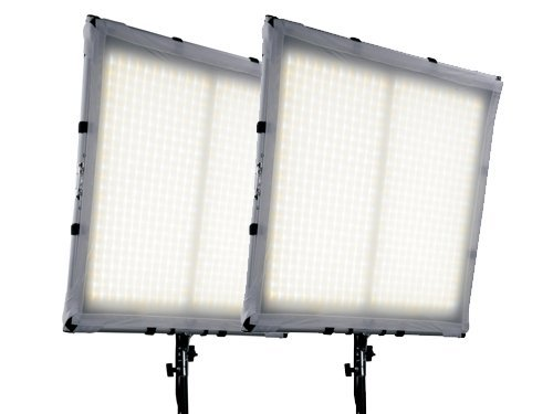 Kit 2 paneles LED flexibles bicolor 3200K-5600K
