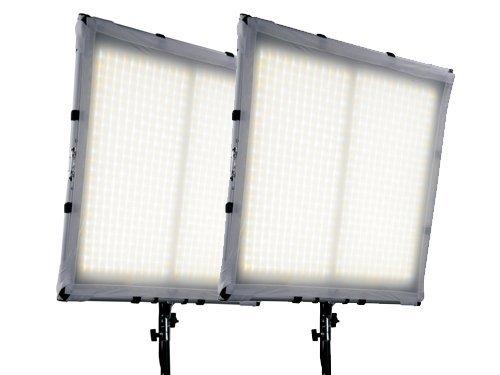Kit 2 paneles LED flexibles bicolor 3200K-5600K