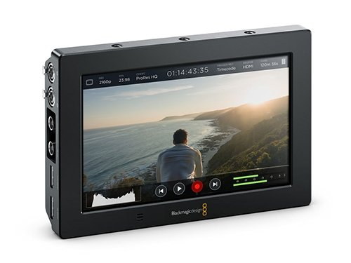 "Monitor/Grabador Blackmagic Video Assist 7"" 4K"
