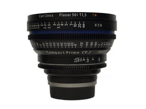 Objetivo Zeiss Compact Prime CP.2 50mm T/1.5 EF Super Speed