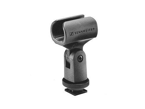 Soporte para micrófonos de cañon Sennheiser MZQ 6 para zapata de flash