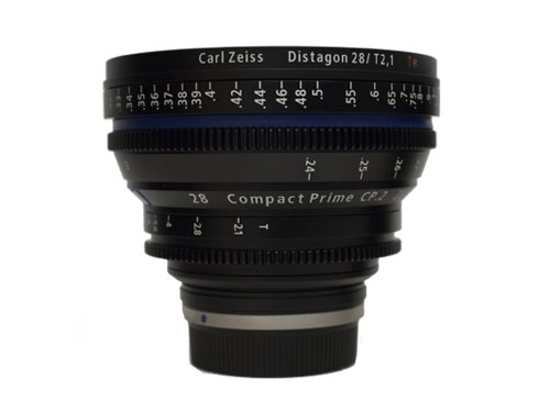 Objetivo Zeiss Compact Prime CP.2 28mm T/2.1 EF