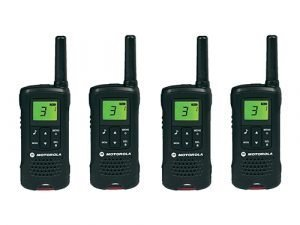 Kit 4 Walkie Talkie Motorola TLKR-T60