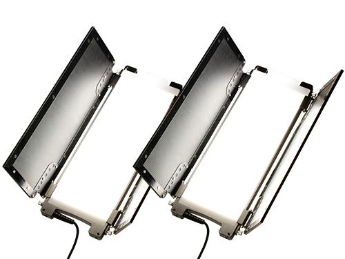 Kit 2 paneles LED bicolor Lumière MINI Switch 3000K-5600K
