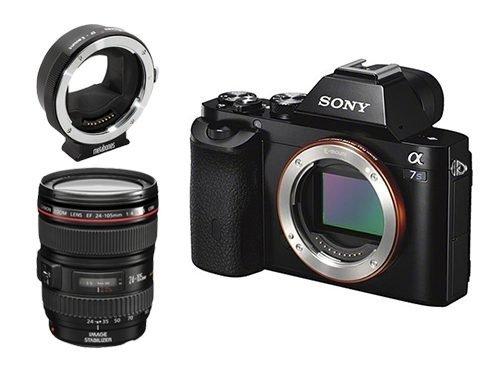 Sony Alpha 7s + Metabones Mark IV + Objetivo Canon EF 24-105mm f/4L IS USM