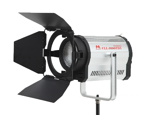 Foco Fresnel LED bicolor FalconEyes CLL-1600TDX 160W 3000K-8000K