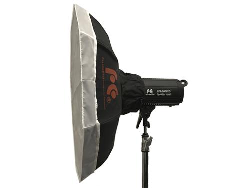 Foco LED bicolor FalconEyes LPS-1000TD 100W 3000K-8000K con Octabox