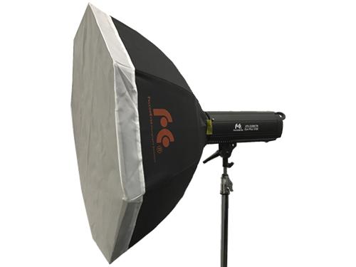 Foco LED bicolor FalconEyes LPS-2100CTR 210W 3000K-8000K con Octabox