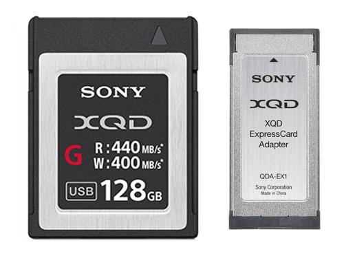 Tarjeta de memoria XQD Sony 128GB