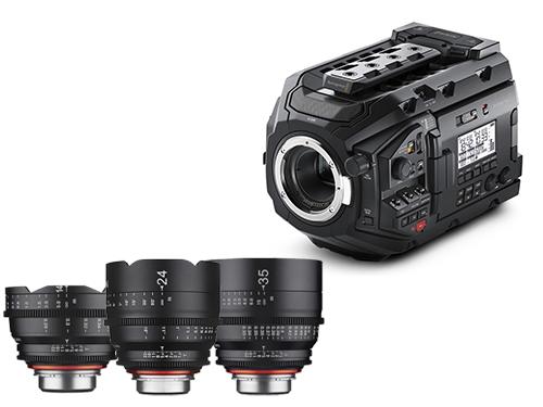 Videos de Blackmagic URSA Mini Pro 4.6K + Objetivos Samyang XEEN 14/24/35mm