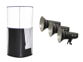 Kit mesa Cubelite Studio Lastolite 70cm + 3 focos LED bicolor FalconEyes LPS-1000TD 100W
