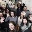La plantilla de trabajadores al completo del grupo Avisual que cuenta con una media de edad que ronda los 30 y todos son especialistas en diferentes materias dentro del medio audiovisual.