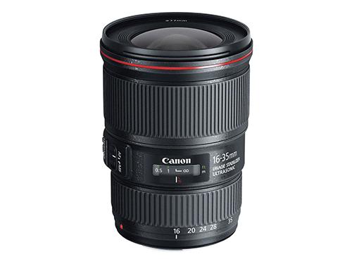 Objetivo Canon EF 16-35mm f/4 L IS USM