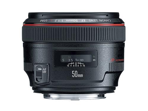 Objetivo Canon EF 50mm f/1.2L USM