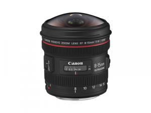 Objetivo Canon EF 8-15mm f/4 Fisheye USM