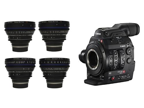 Canon EOS C300 Mark II + Objetivos Zeiss Compact Prime 28/35/50/85mm