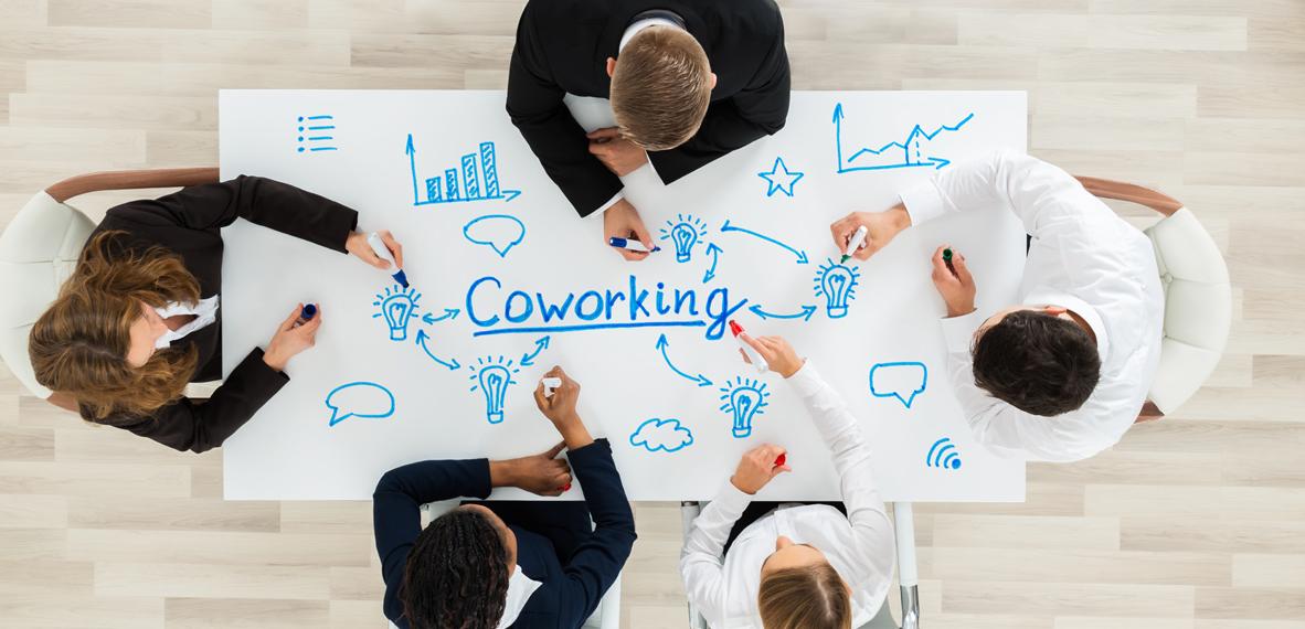 Cada vez más profesionales del sector audiovisual alquilan espacios de coworking para trabajar y desarrollar su actividad.