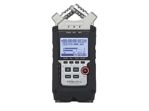 Grabadora digital Zoom H4n Pro